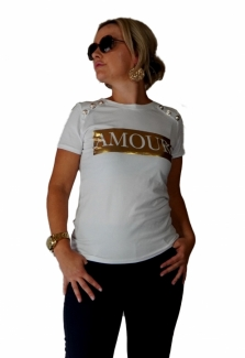 T-shirt Amour -50%