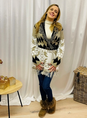 Gilet Beige Musthave